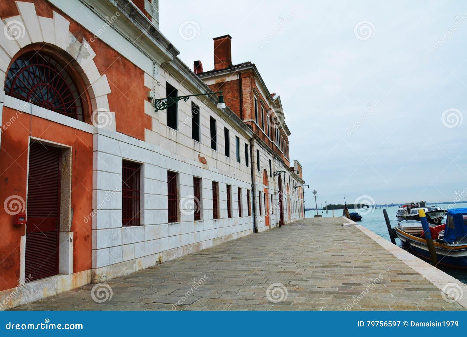 Городской пейзаж и s Окрестности Giobbe, Венеция, Италия