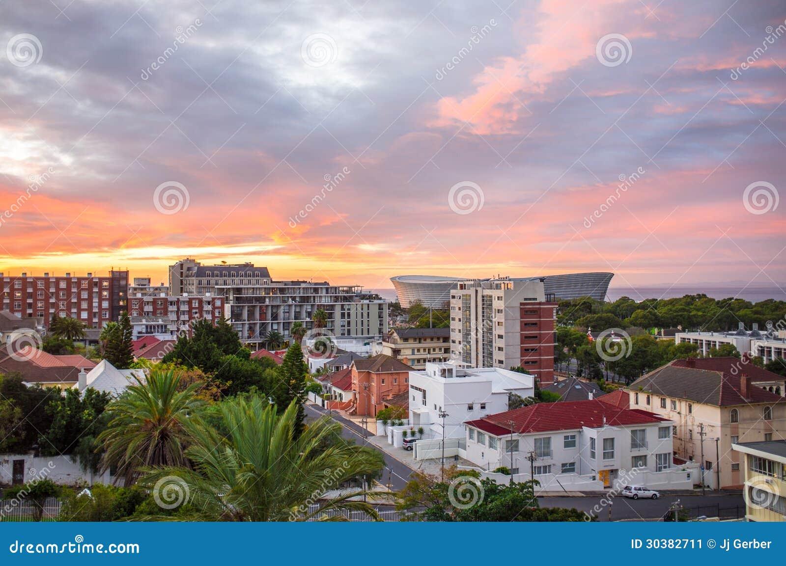 Городской пейзаж Кейптауна