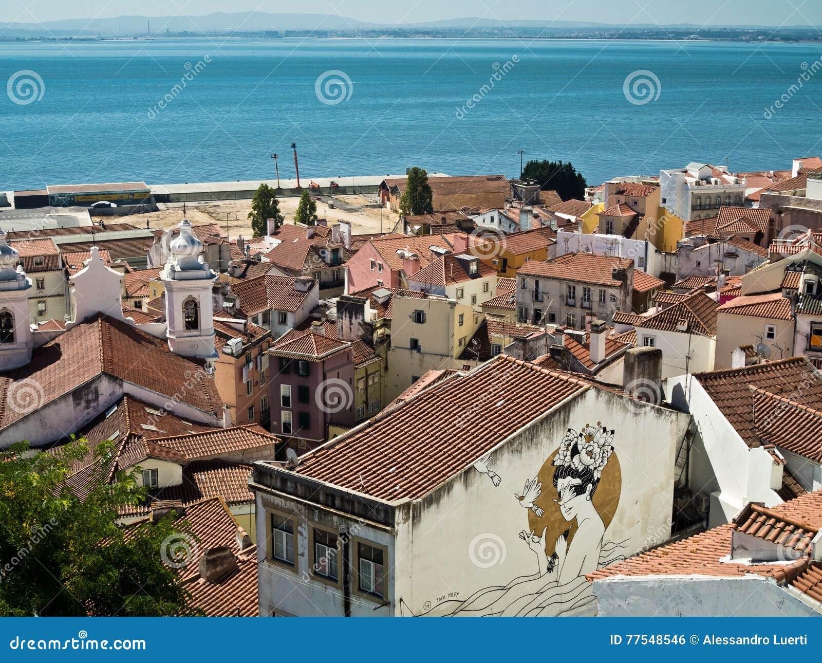 Городской пейзаж Лиссабона