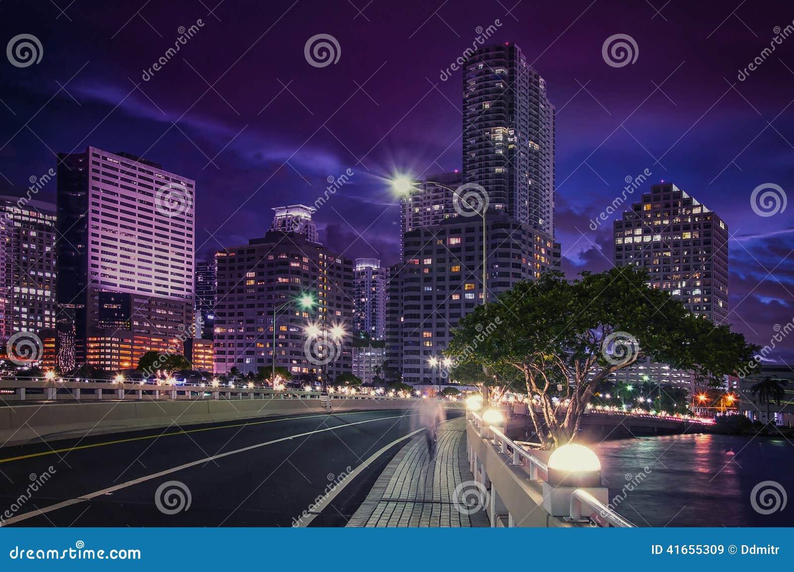 Городской район Brickell Майами финансовый