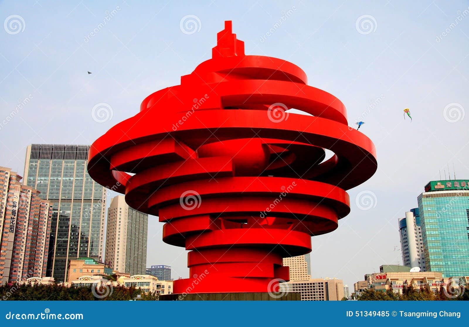 Город Qingdao Шаньдуна, фарфора