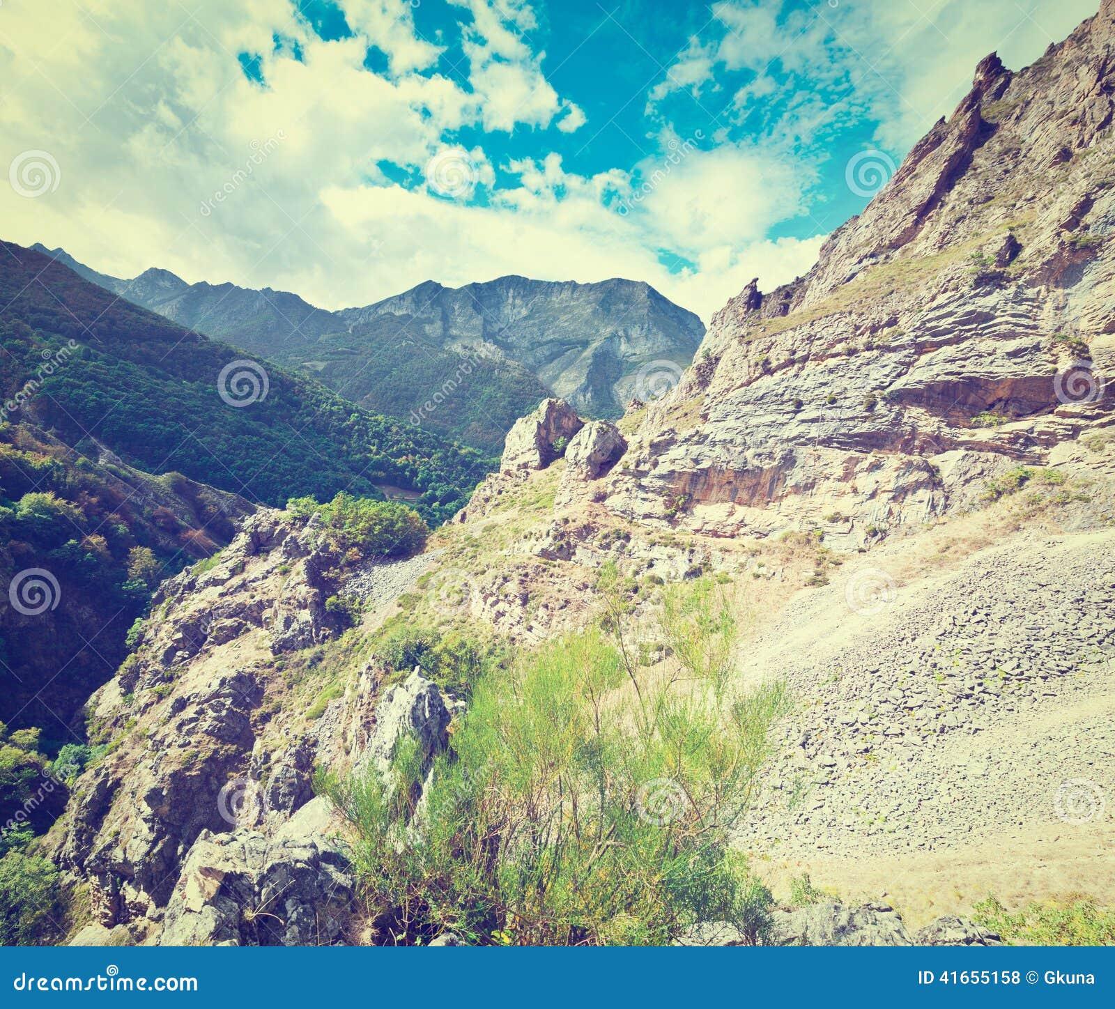 горы Испания