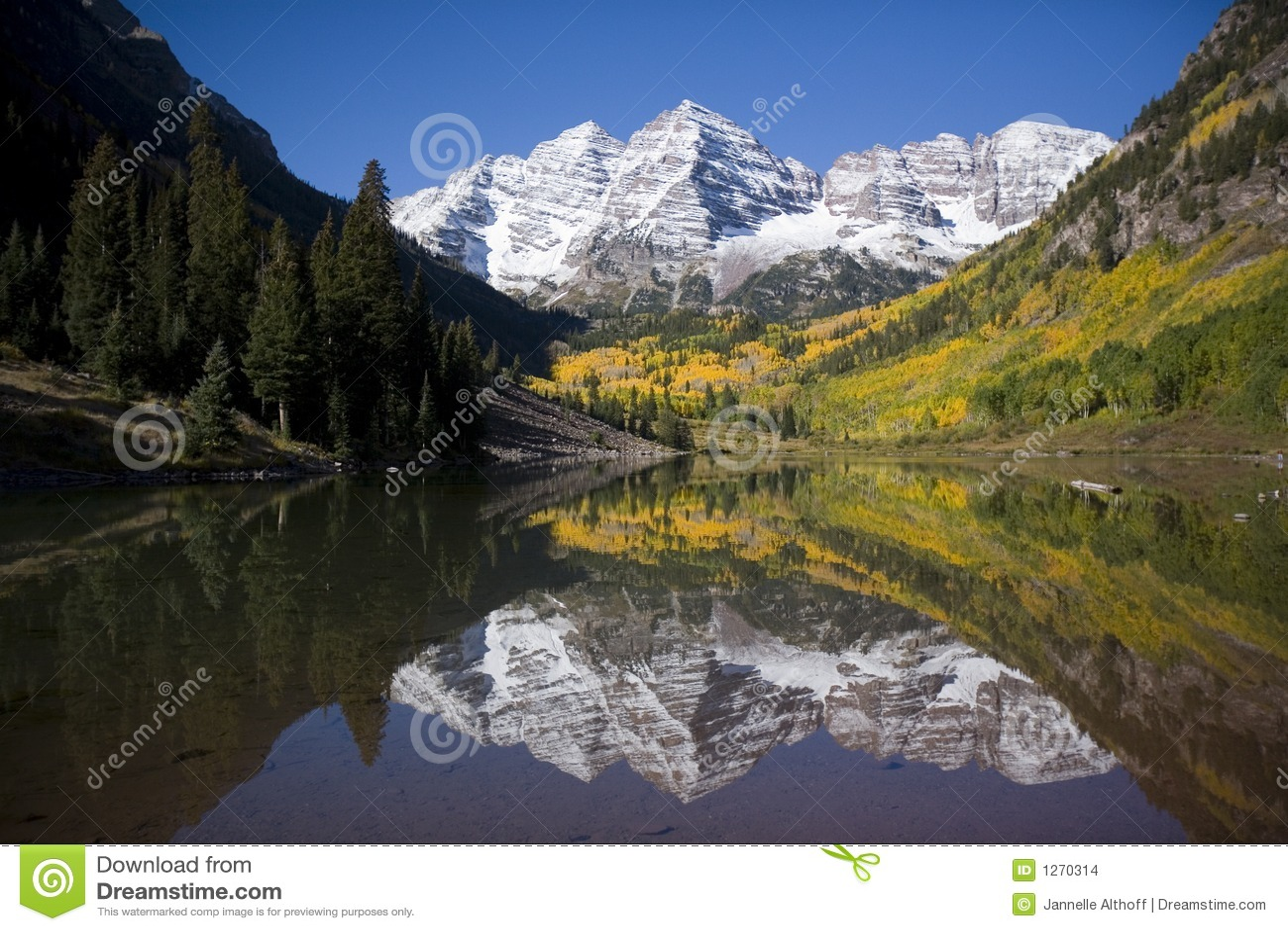 горы колоколов maroon