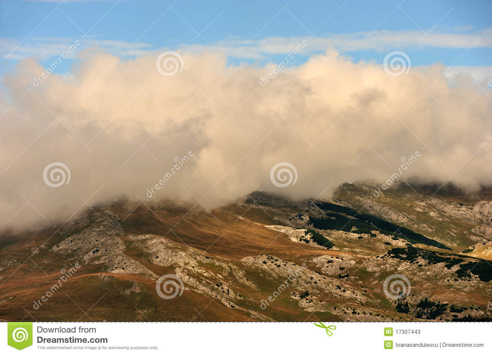 горы ландшафта