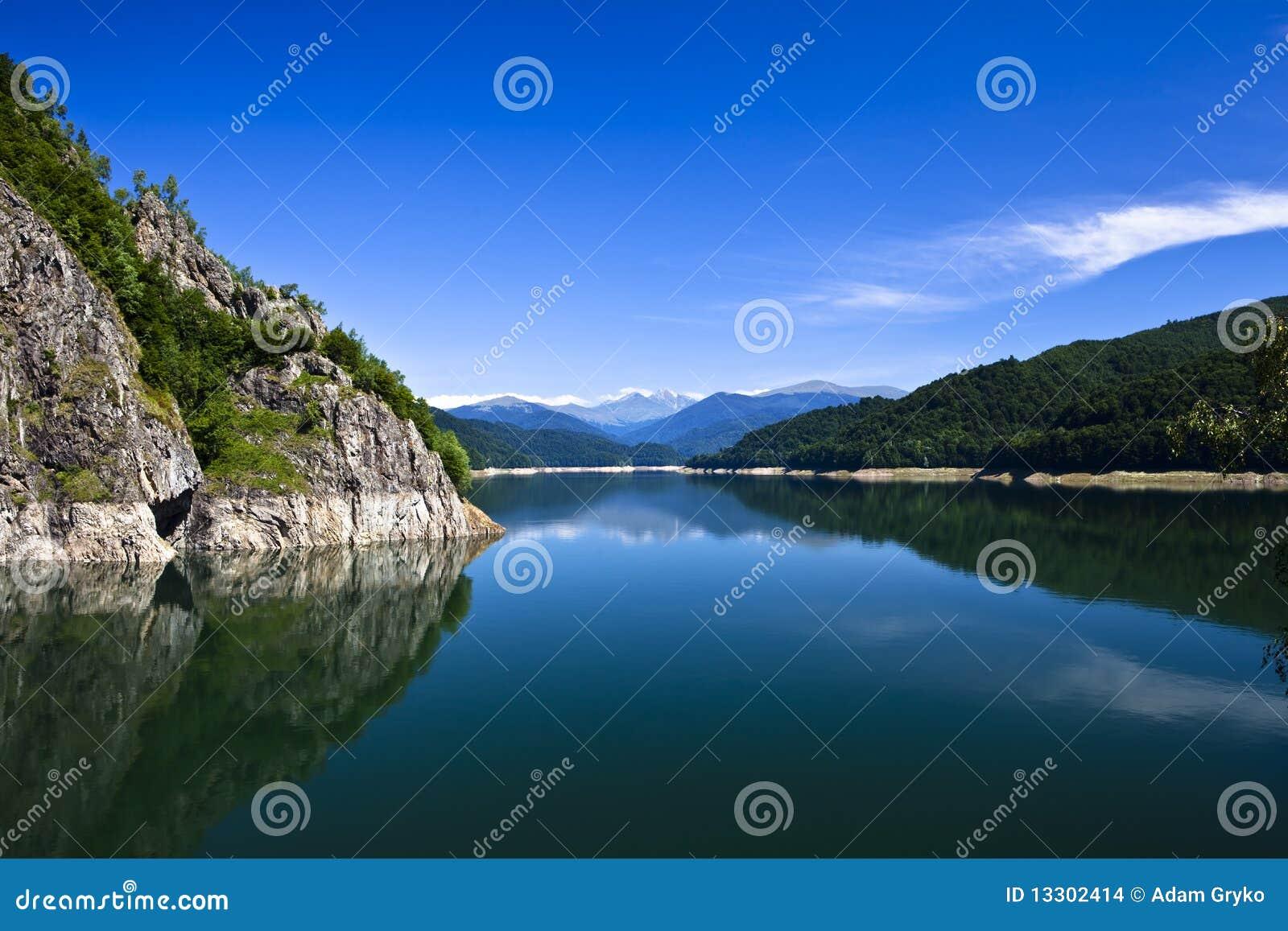 горы озера