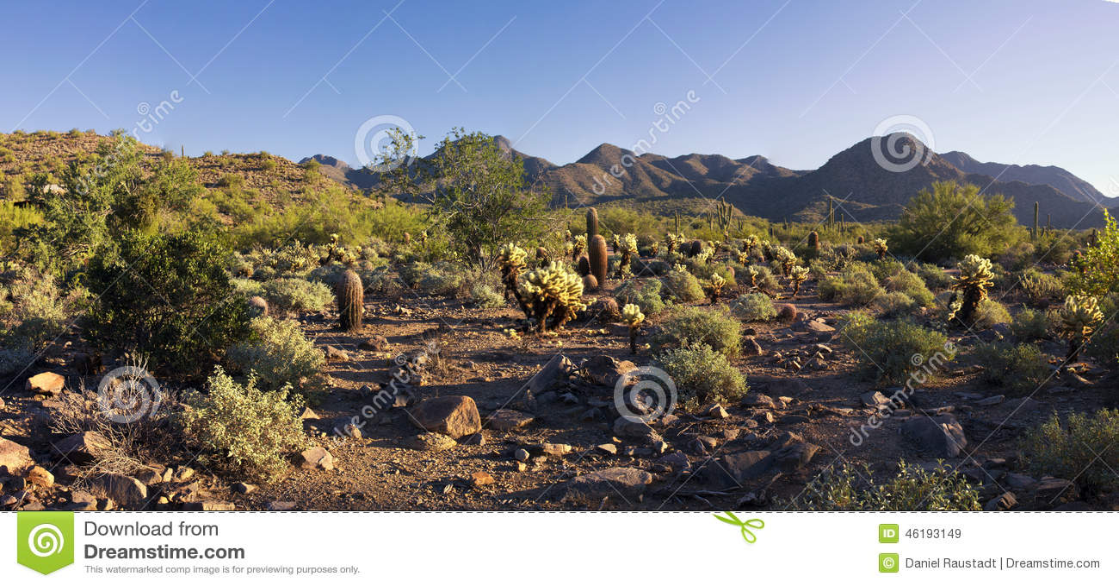 Горы пустыни Аризоны
