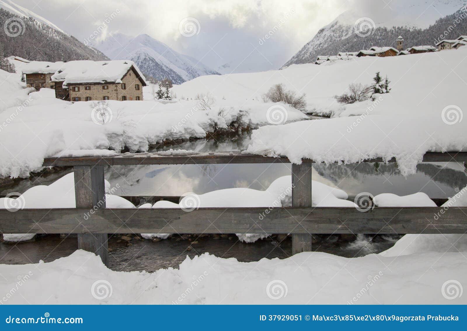 Горы снега