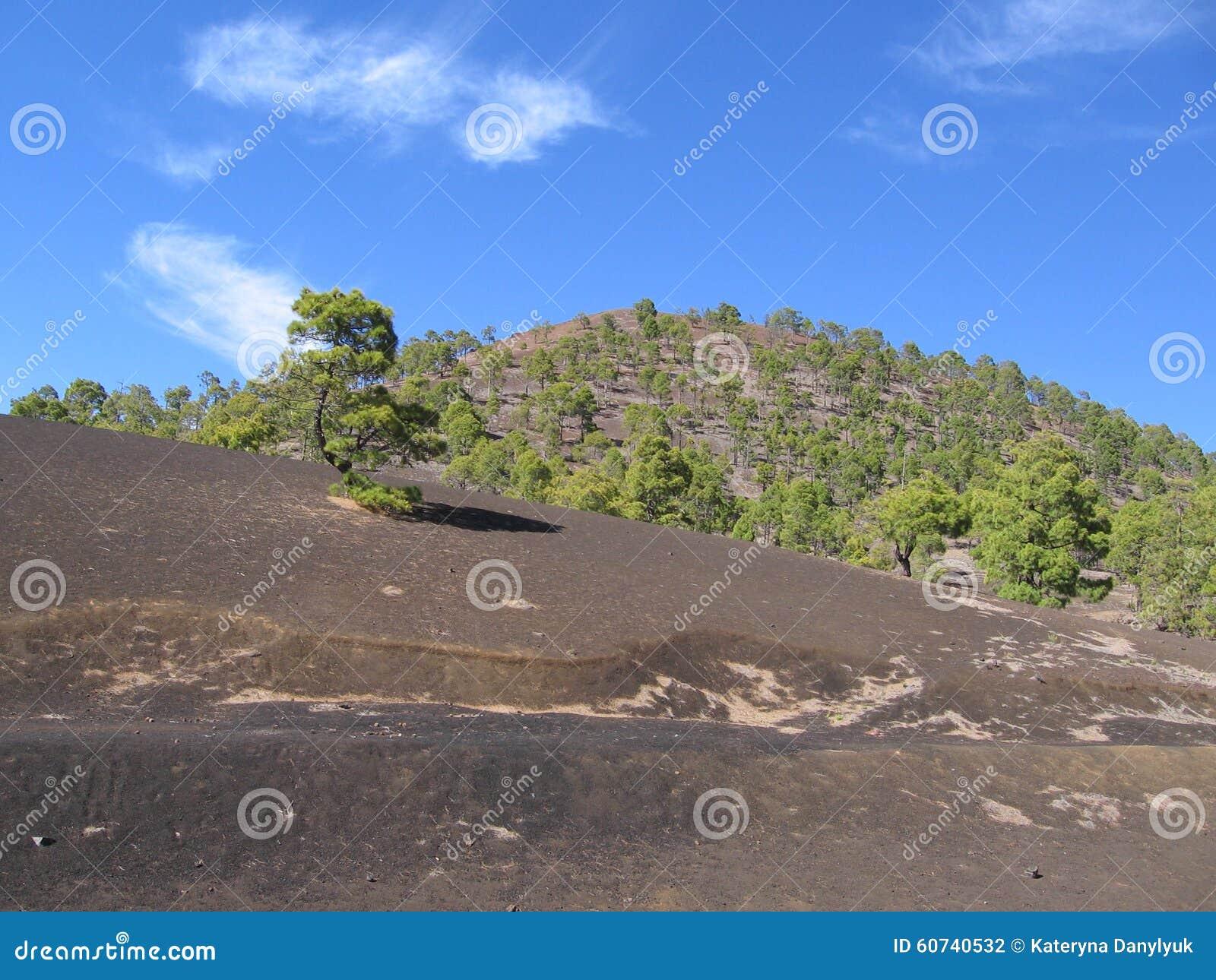 Горы, Тенерифе, Канарские острова, ландшафт