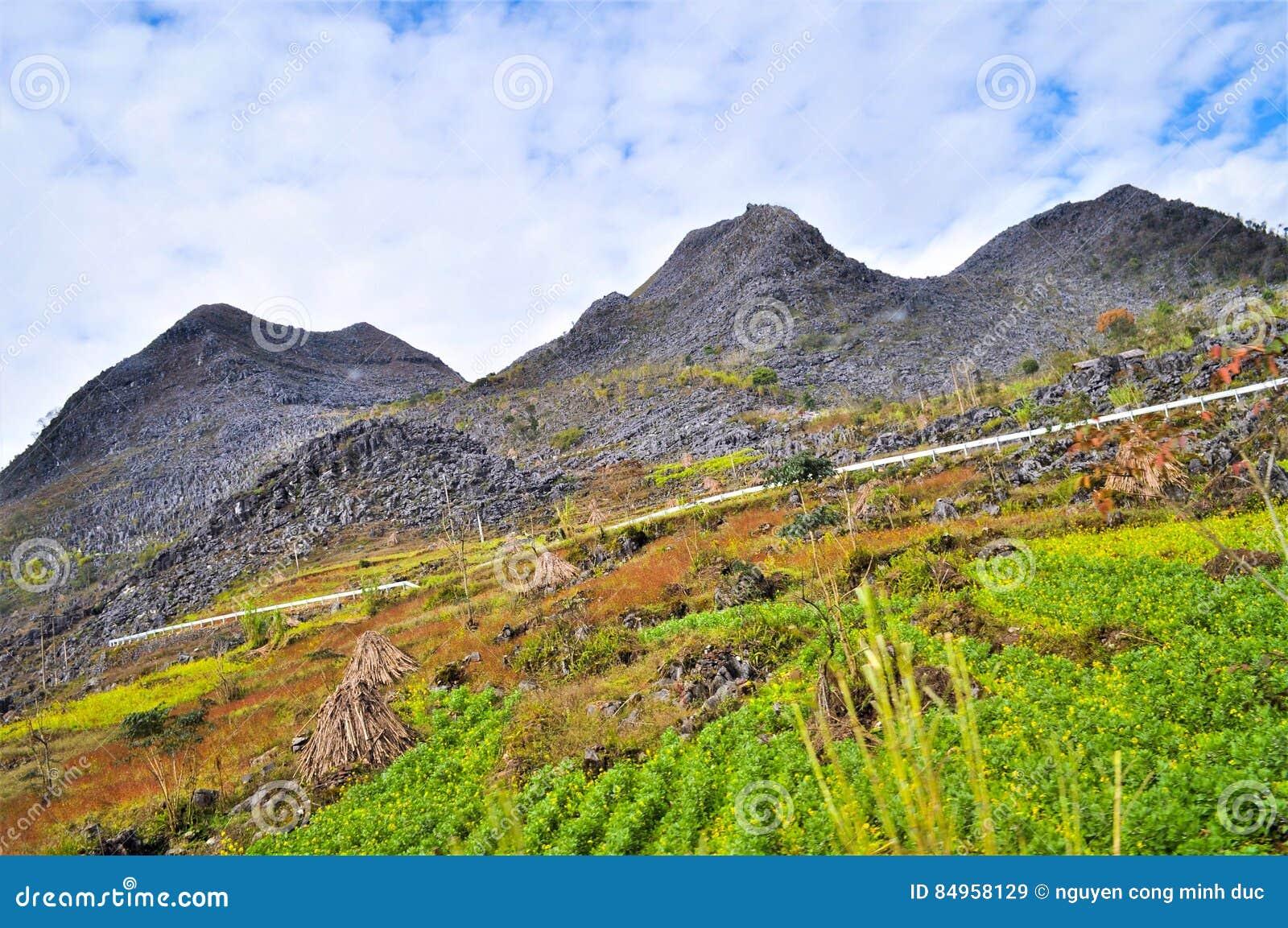 Горы Ha Giang Вьетнама