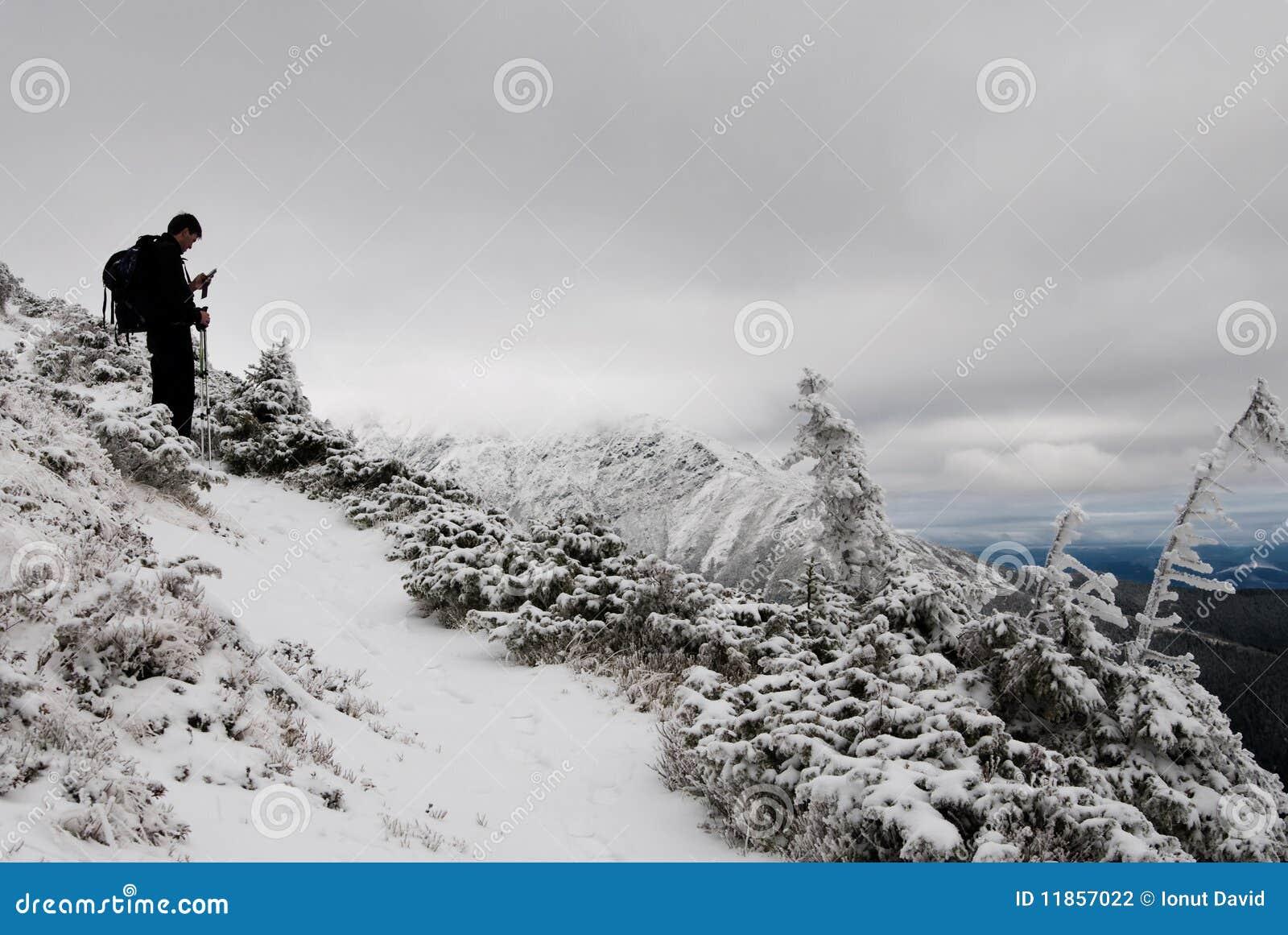 горы hiker fagaras