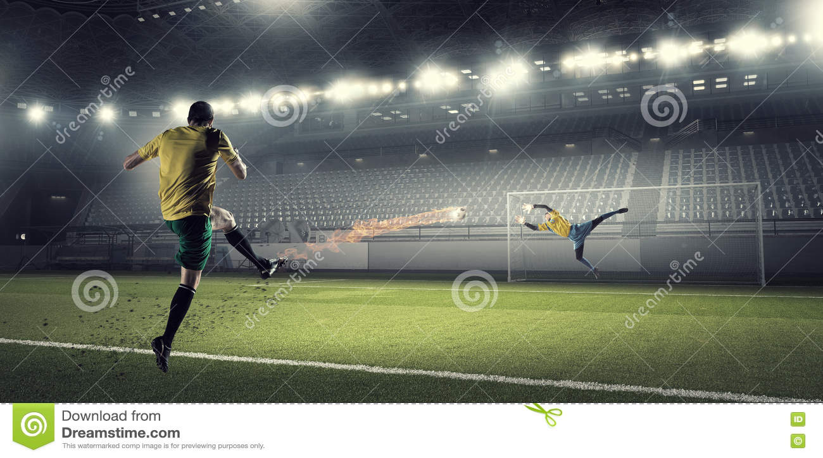 Download Горячие моменты футбола стоковое фото. изображение насчитывающей игрок - 72284108