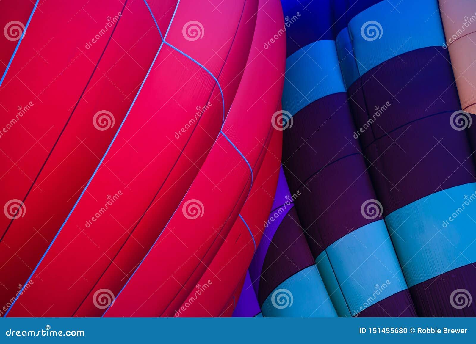 Горячий фестиваль зарева воздушного шара