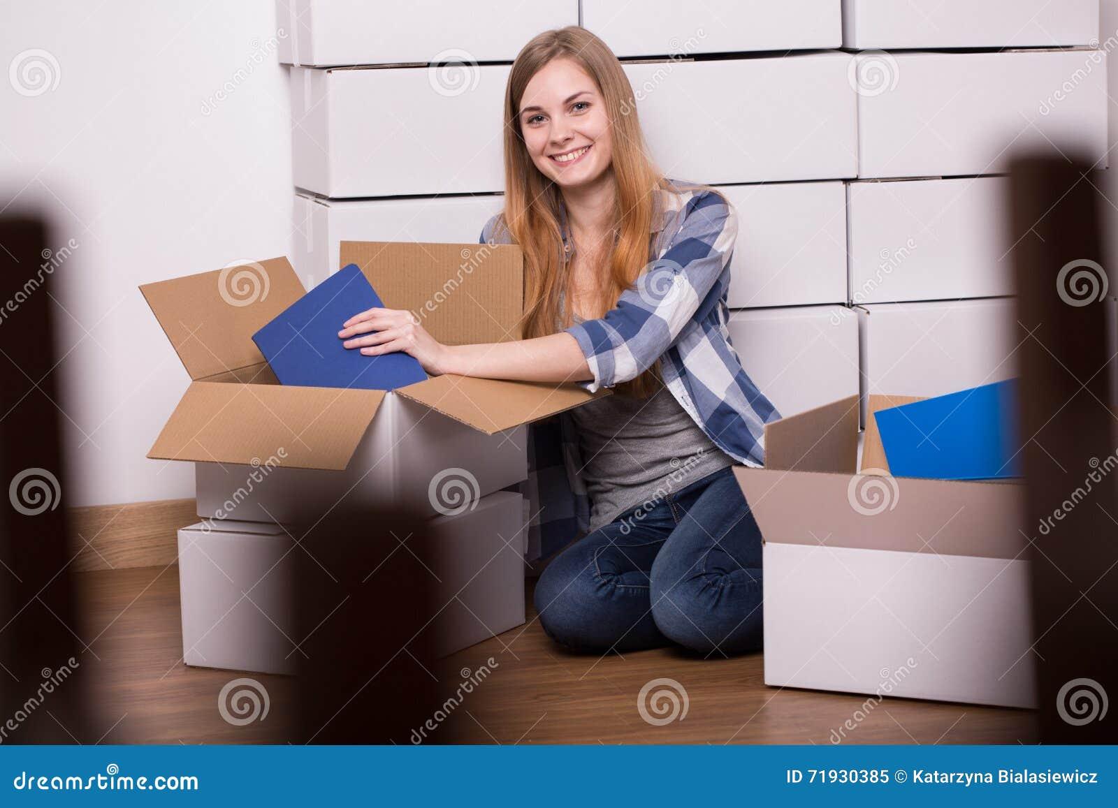 Гордое предприниматель новой квартиры