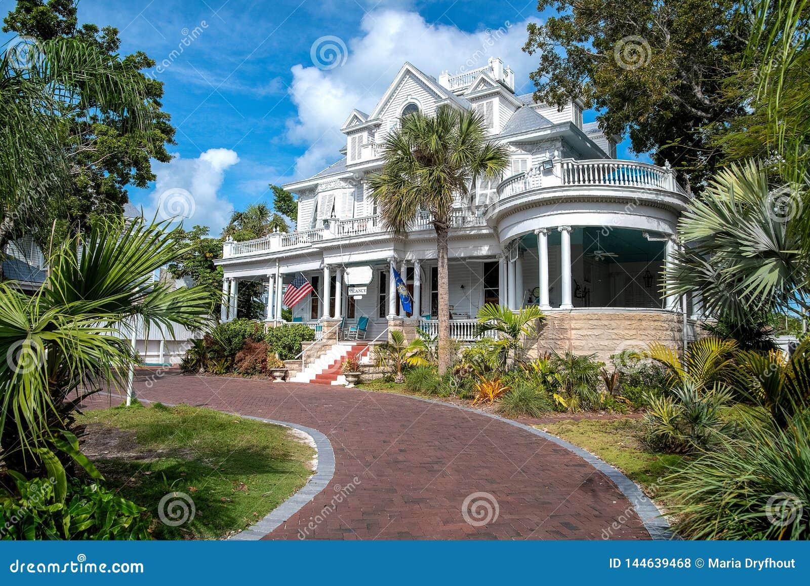 Гостиница особняка карри Амстердама в Key West