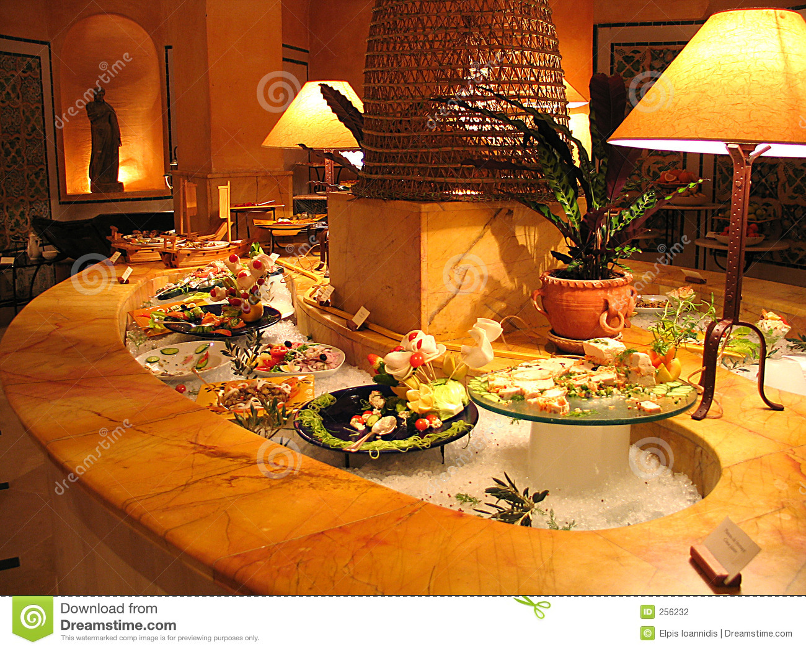 гостиница шведского стола