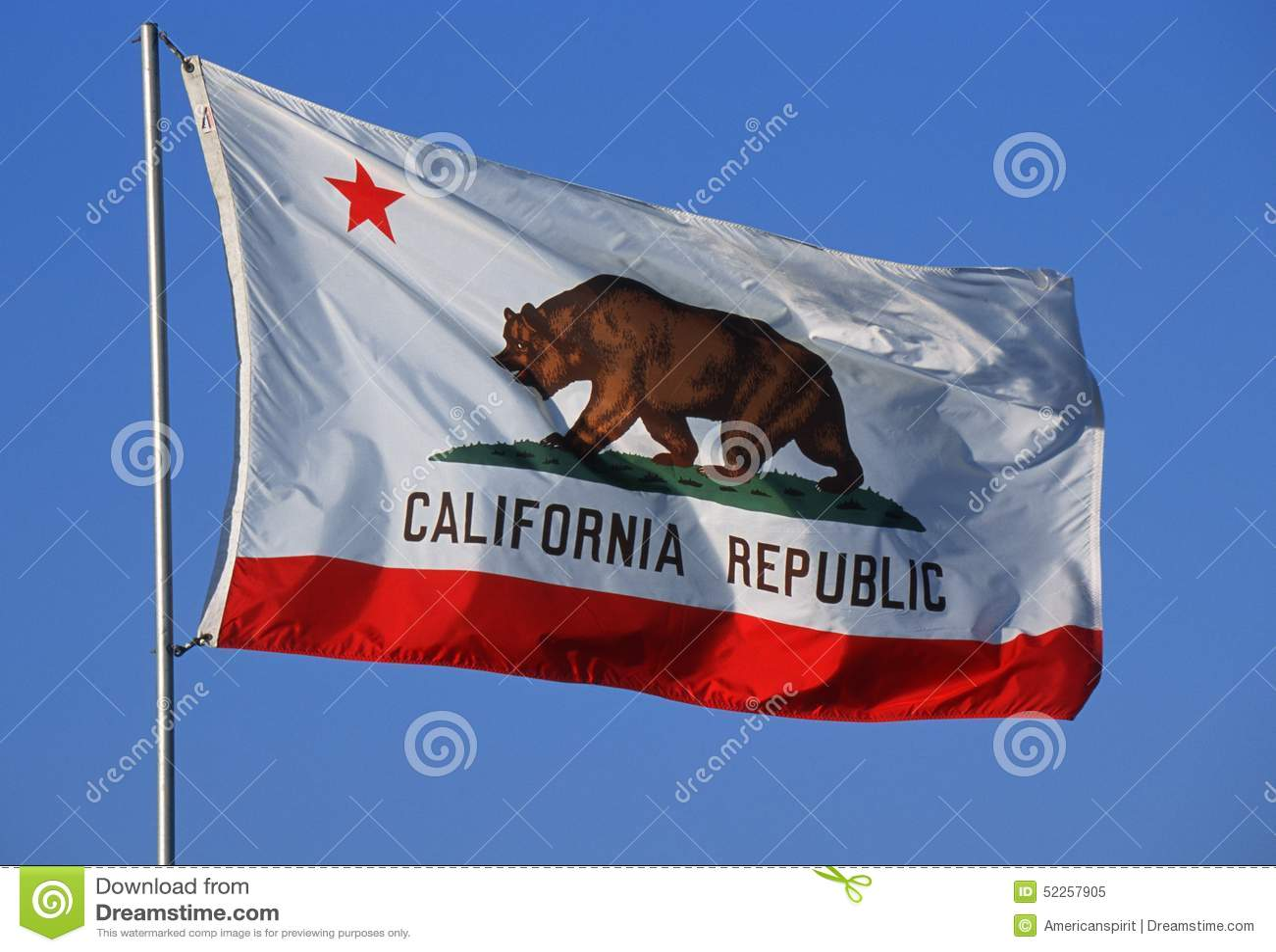 государство флага california