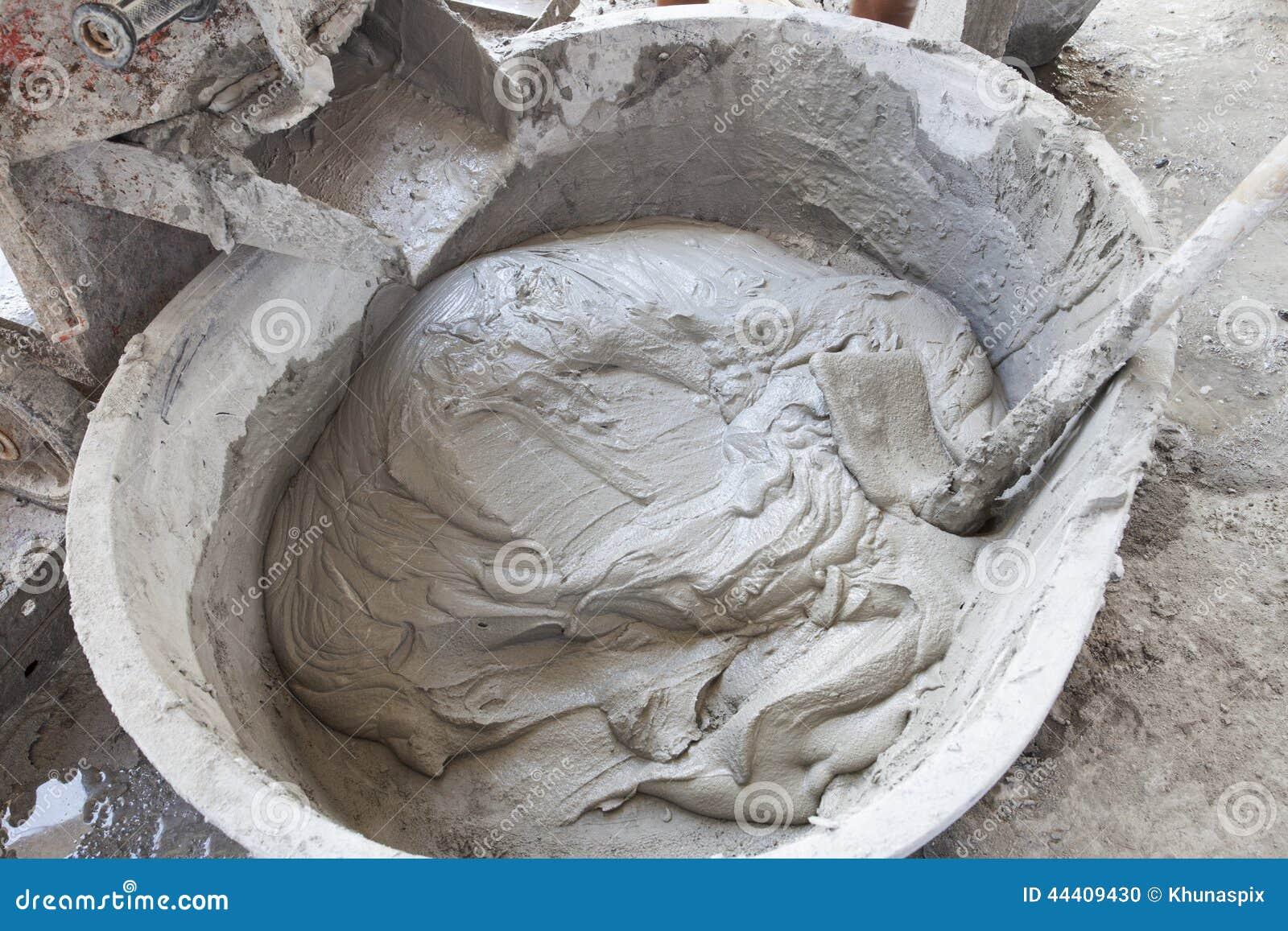 смешанный бетон