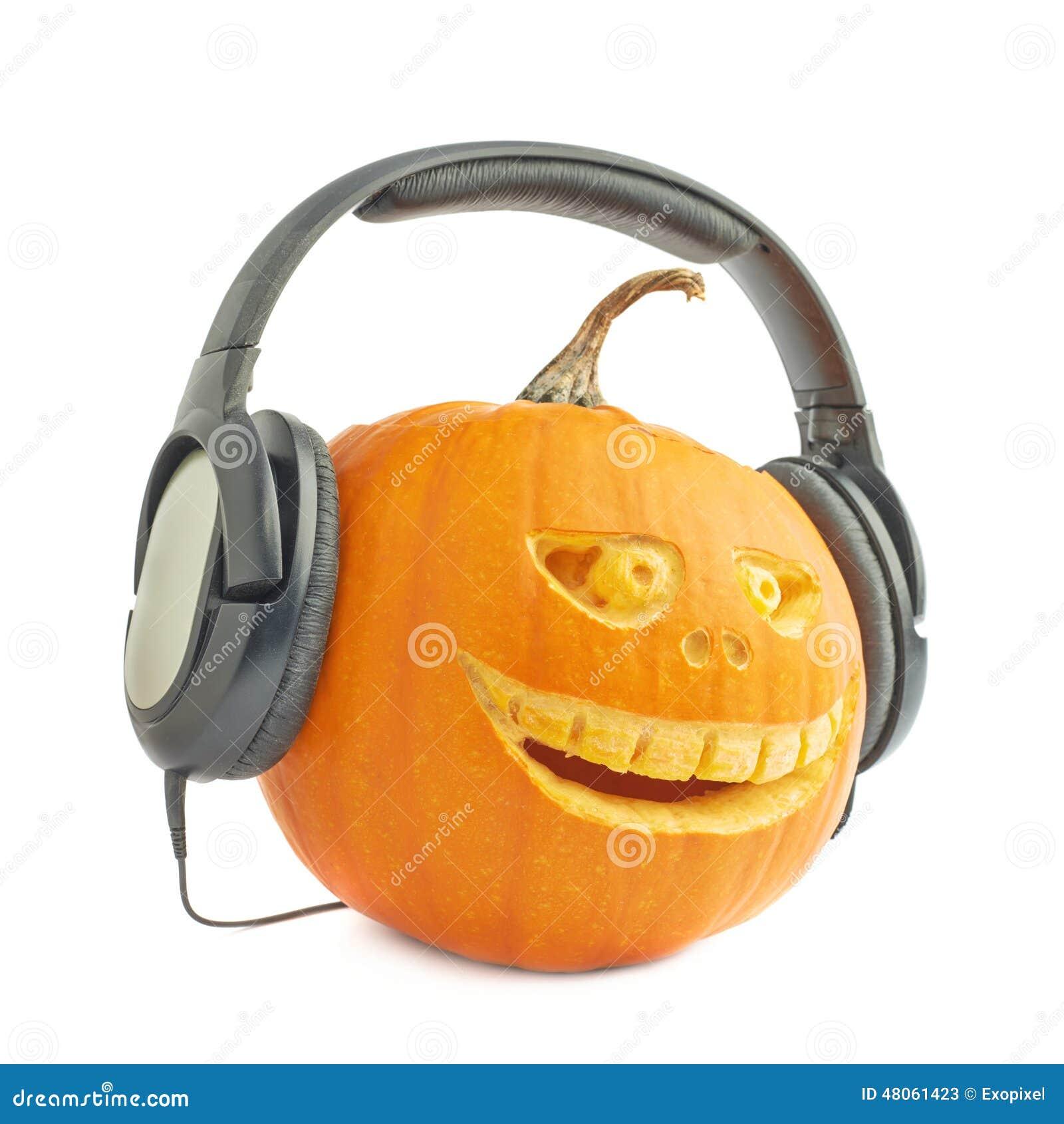 голова тыквы хеллоуина Джек-o -фонариков