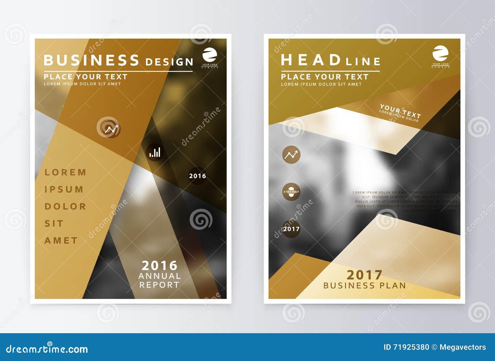 Годовой отчет и брошюра Отчеты о шаблона брошюры