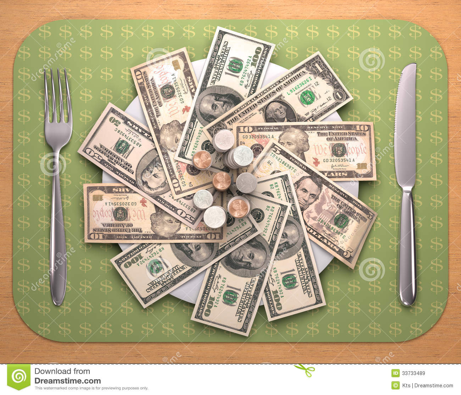 Голод для денег