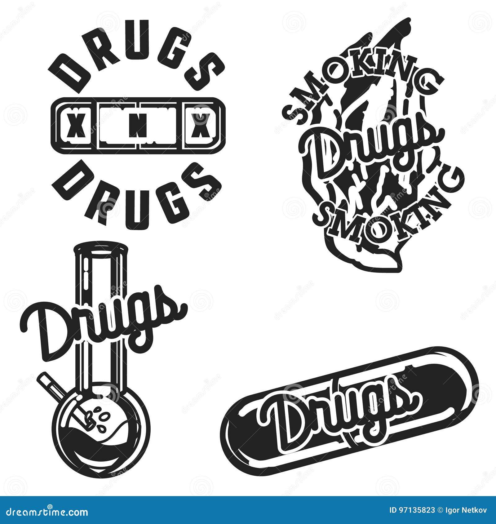 Год сбора винограда цвета дает наркотики эмблемам
