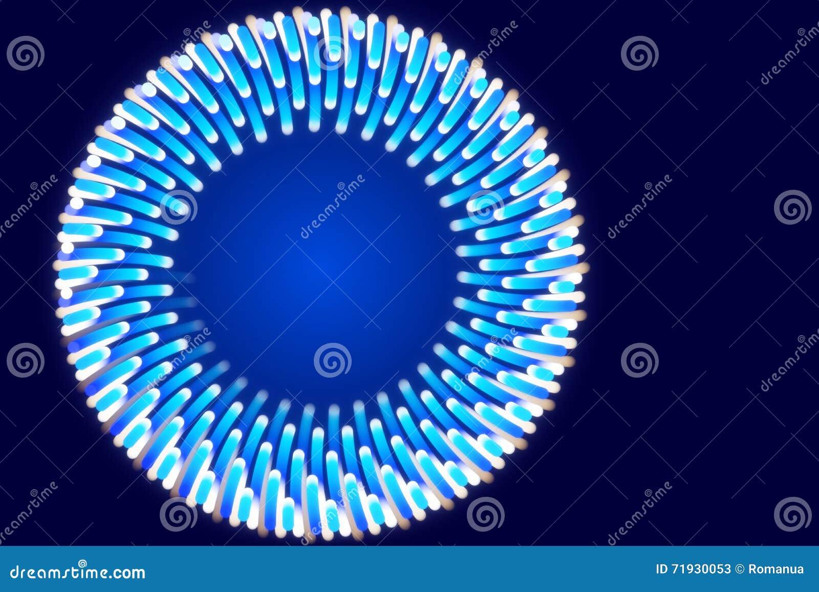 Голубая предпосылка и абстрактная форма