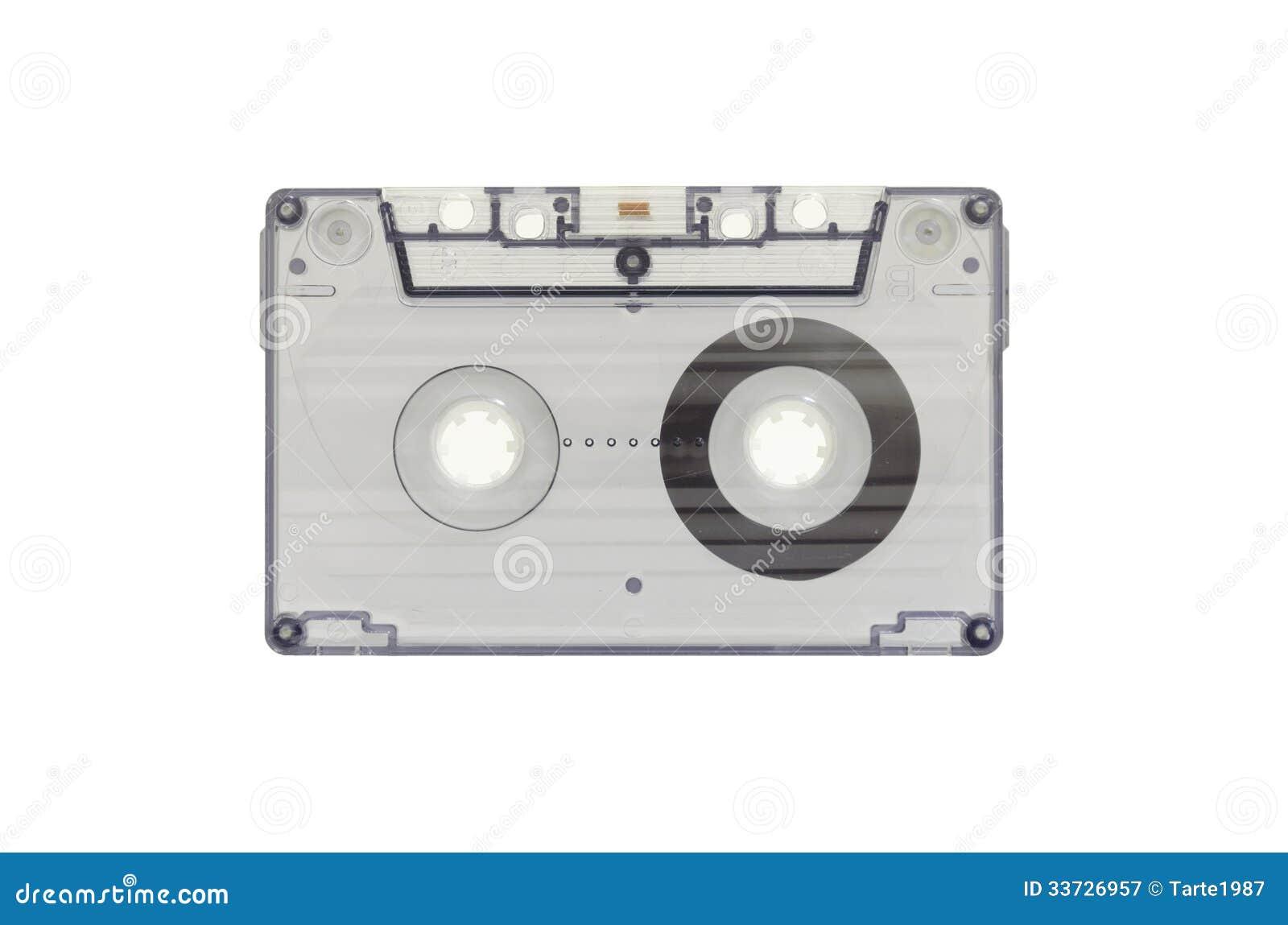 Голубая прозрачная кассета
