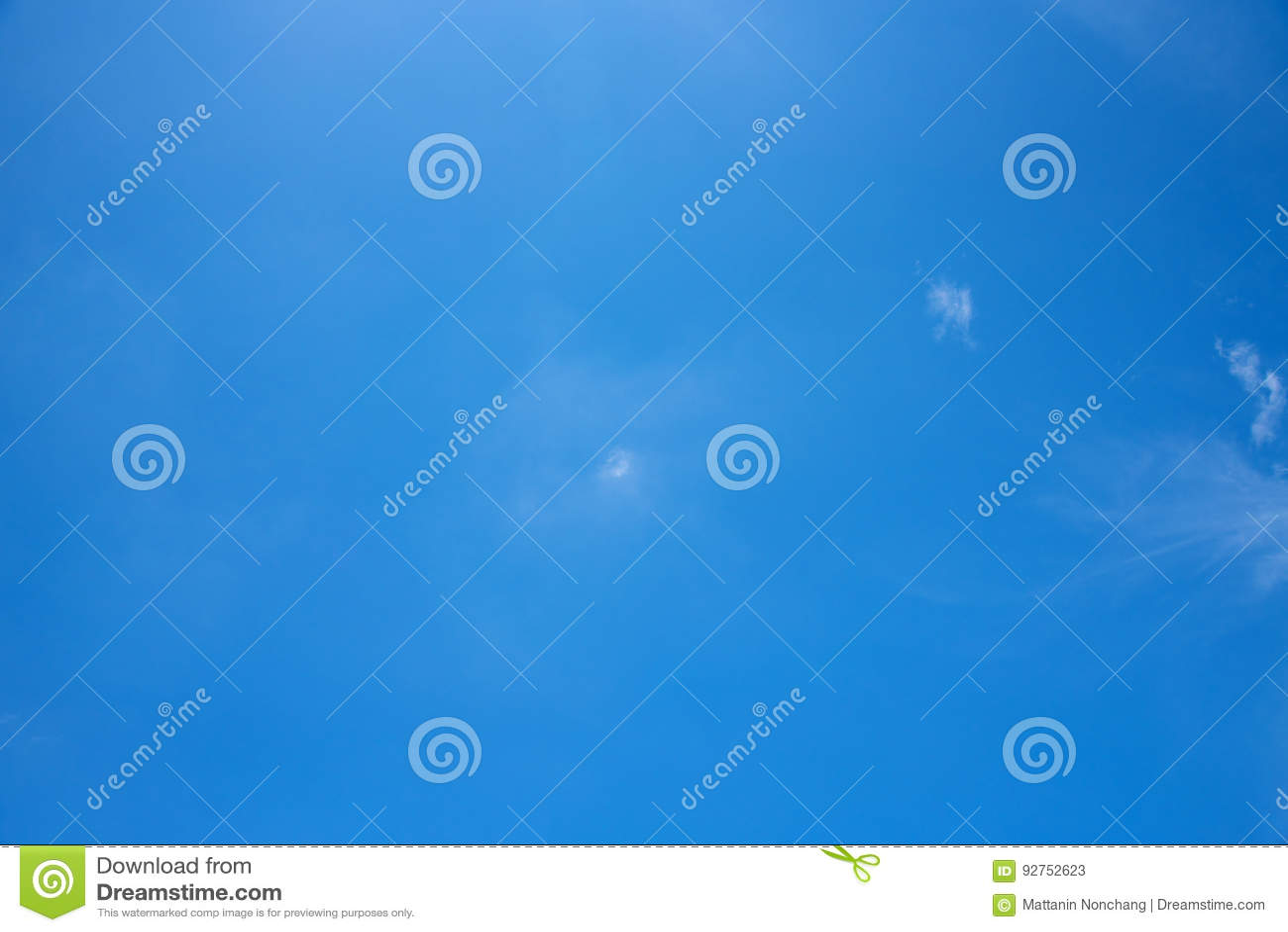 Голубое небо, ясность