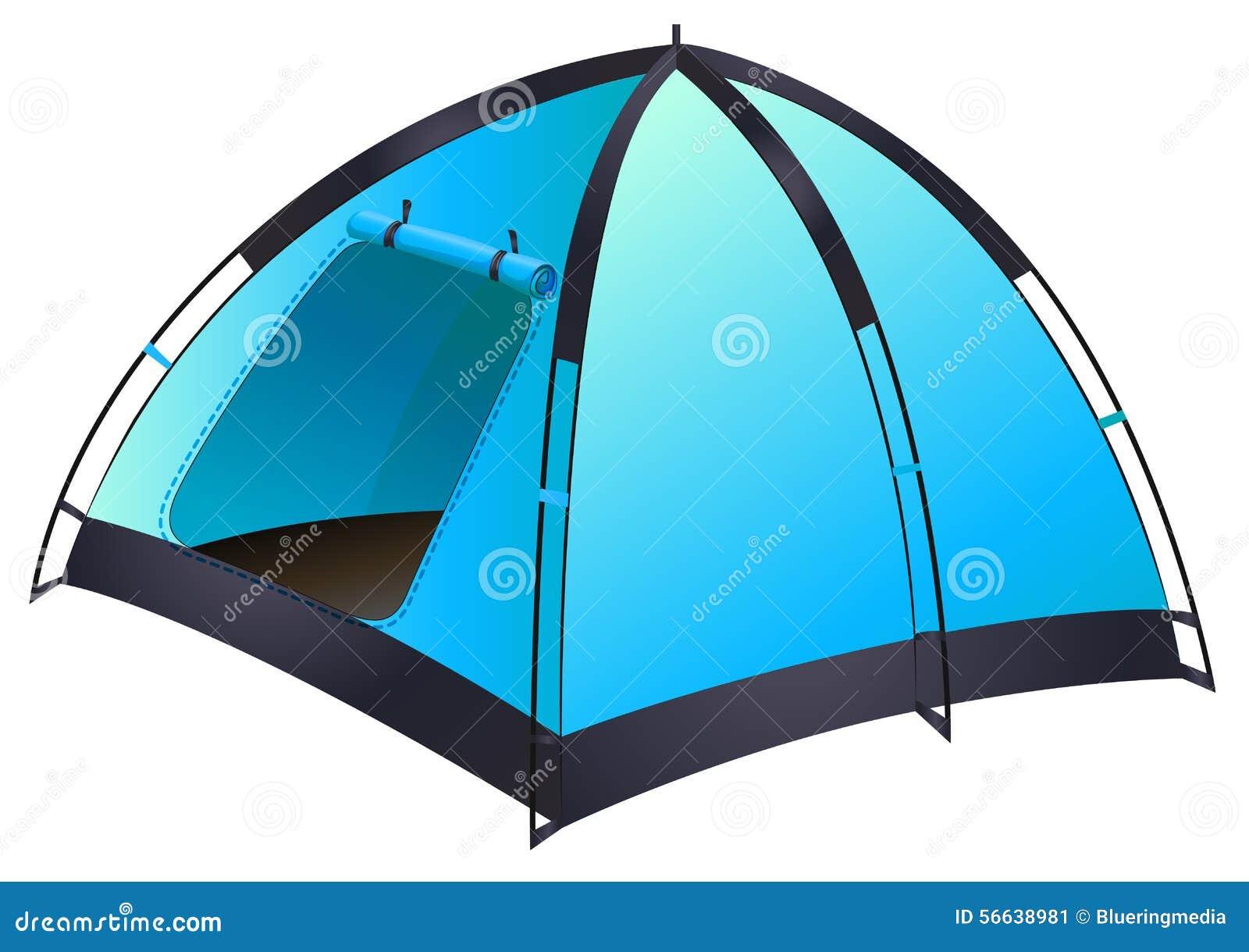 голубой шатер