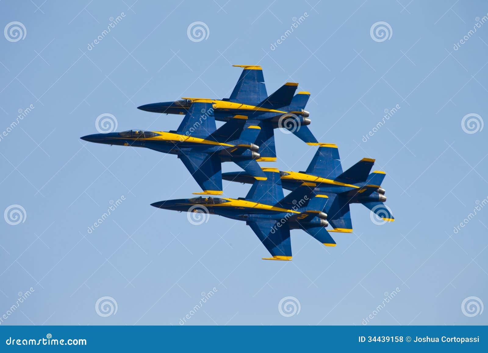 Голубые ангелы Airshow