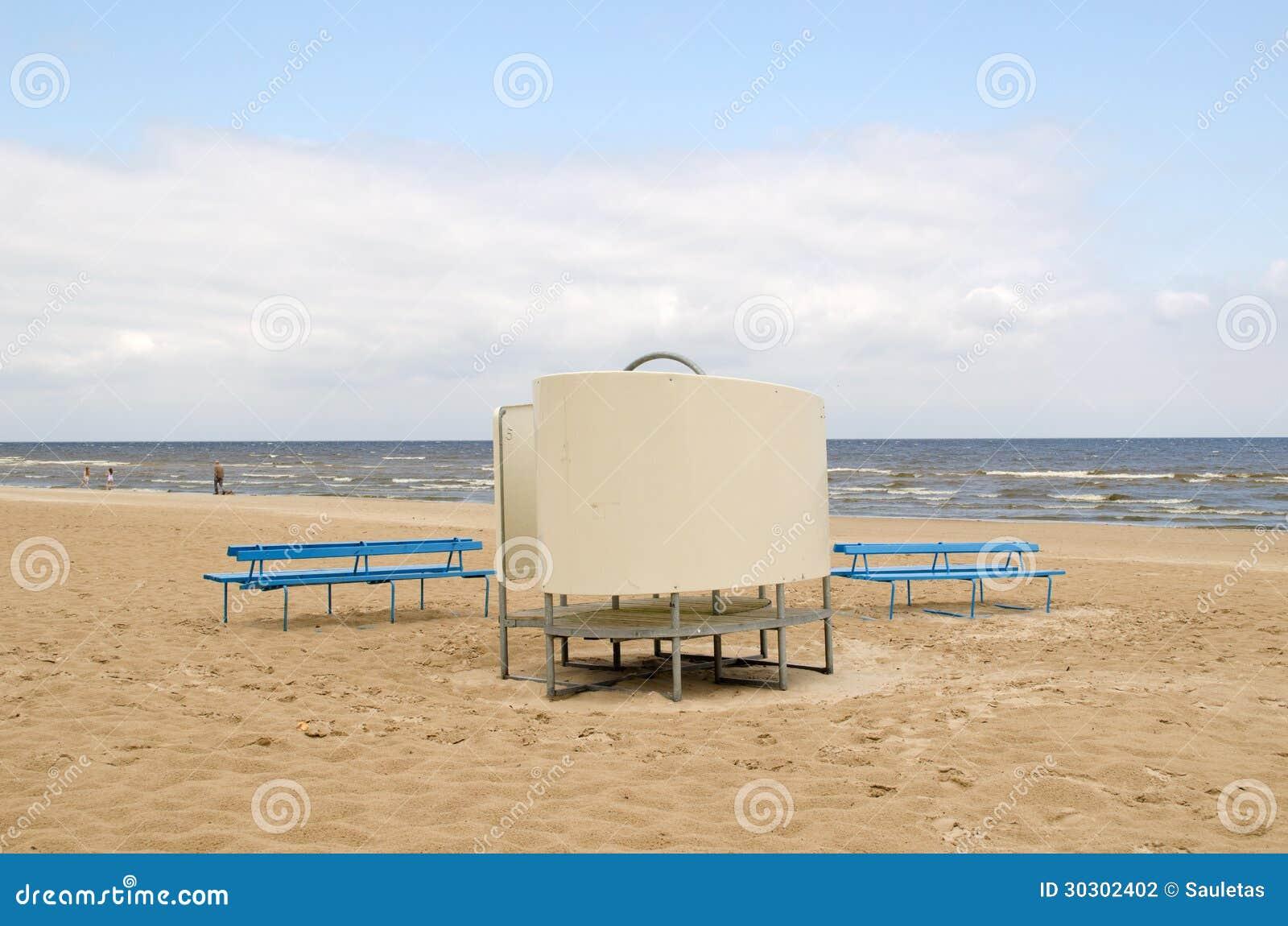пляжные кабины на море - 7