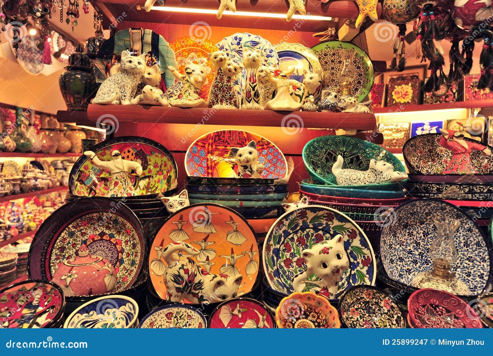 Грандиозный базар Стамбул