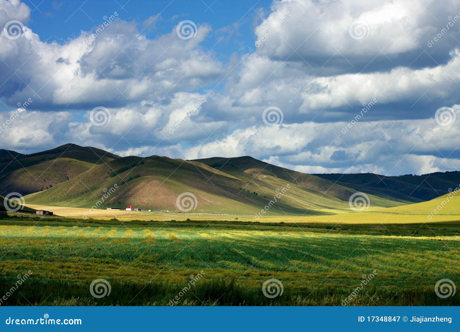 Грандиозный ландшафт