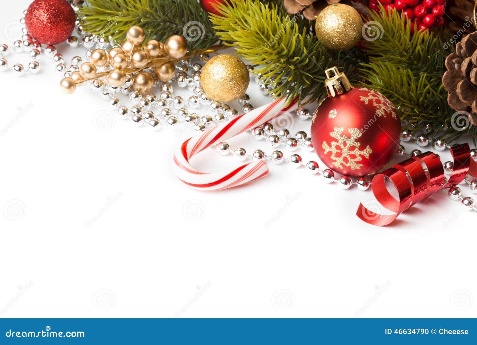 Граница рождества с орнаментом
