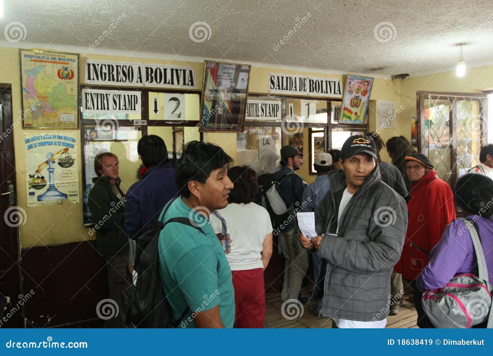граница bolivian Аргентины