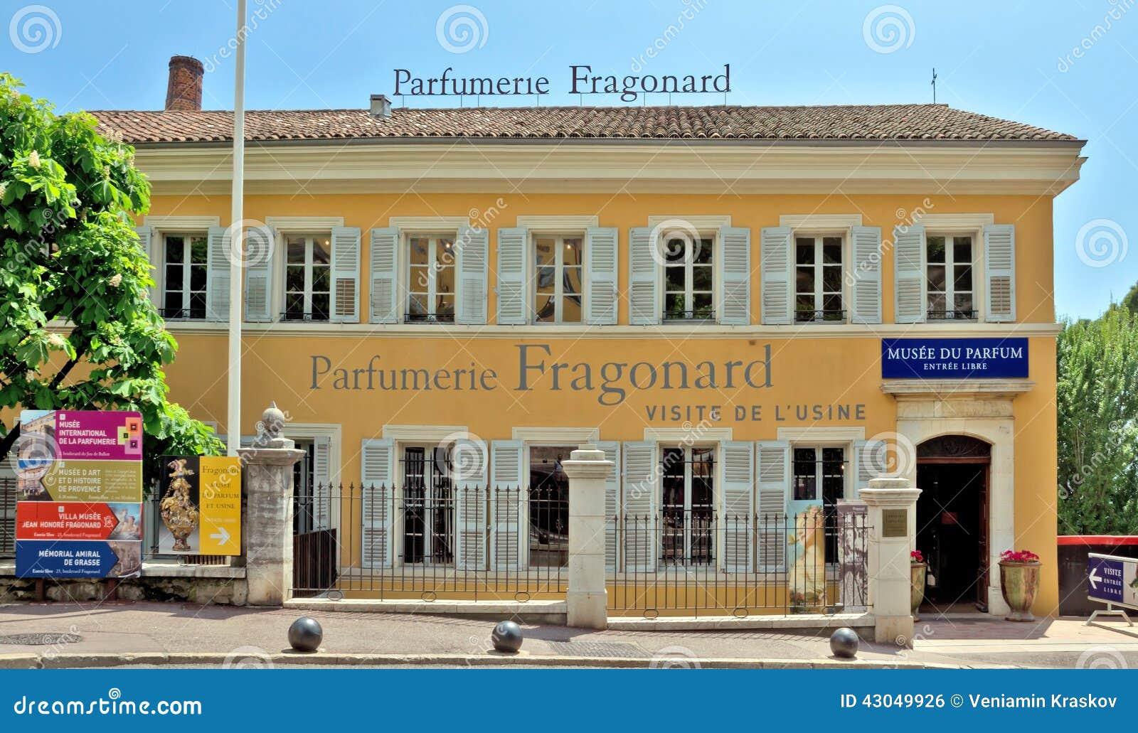 грасс фабрика Parfumerie Fragonard редакционное фото изображение