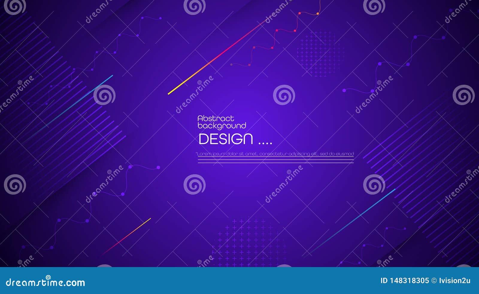График вектора современный, минимальные элементы дизайна для фона, шаблона, плаката, обоев, летчика, плана