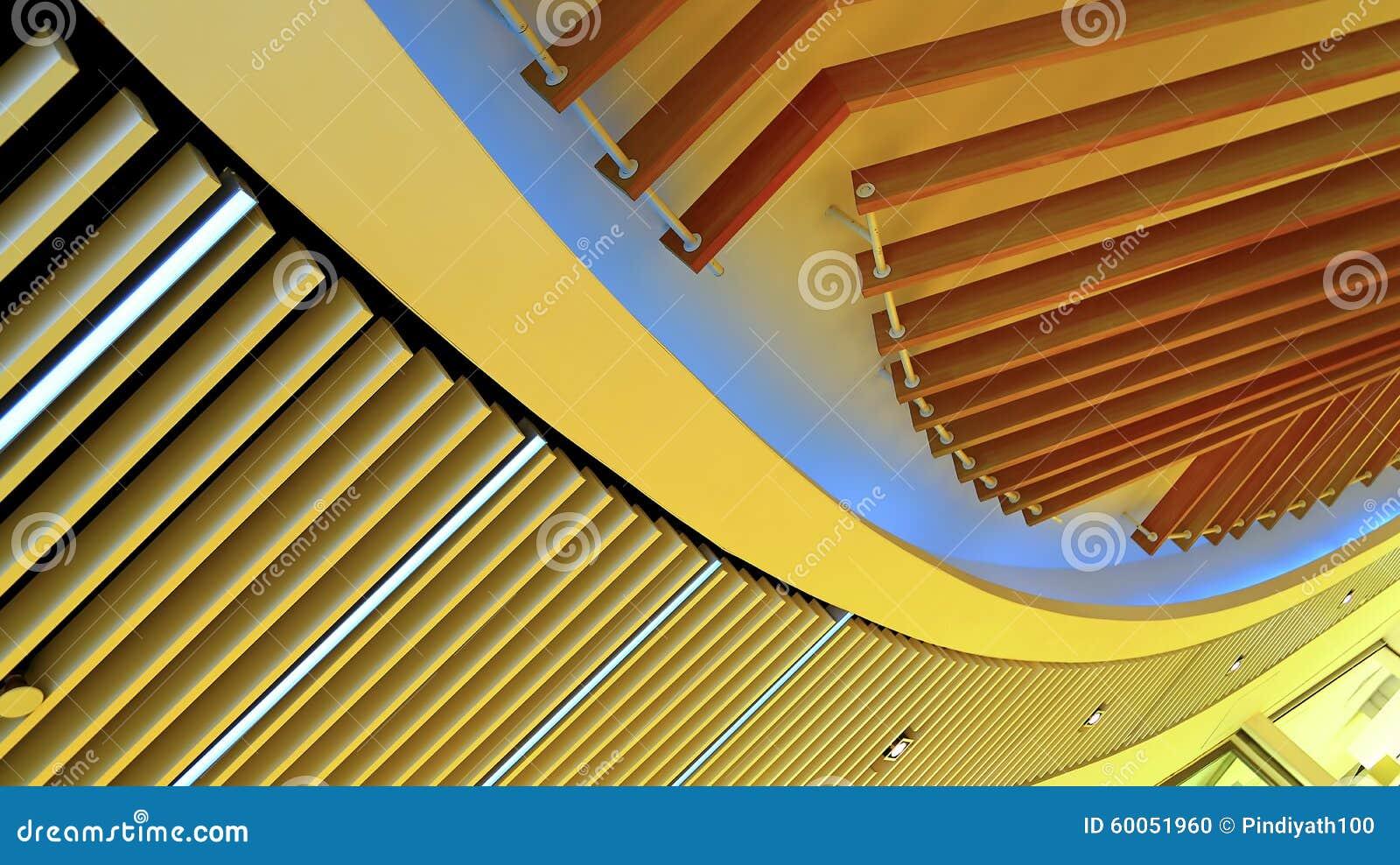 Графический дизайн приспособления потолочных освещений деревянный