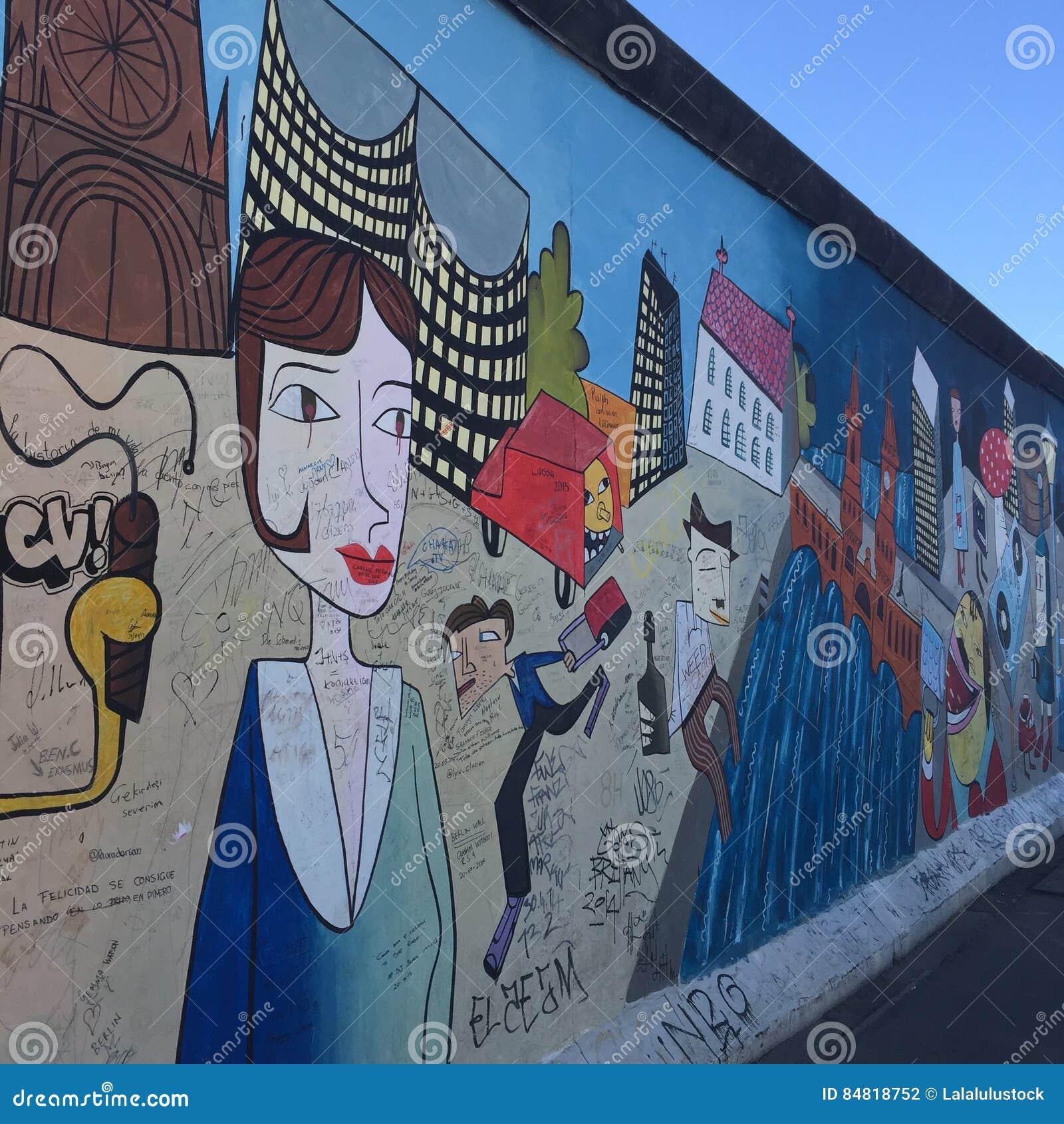 Граффити Германии Берлинской стены