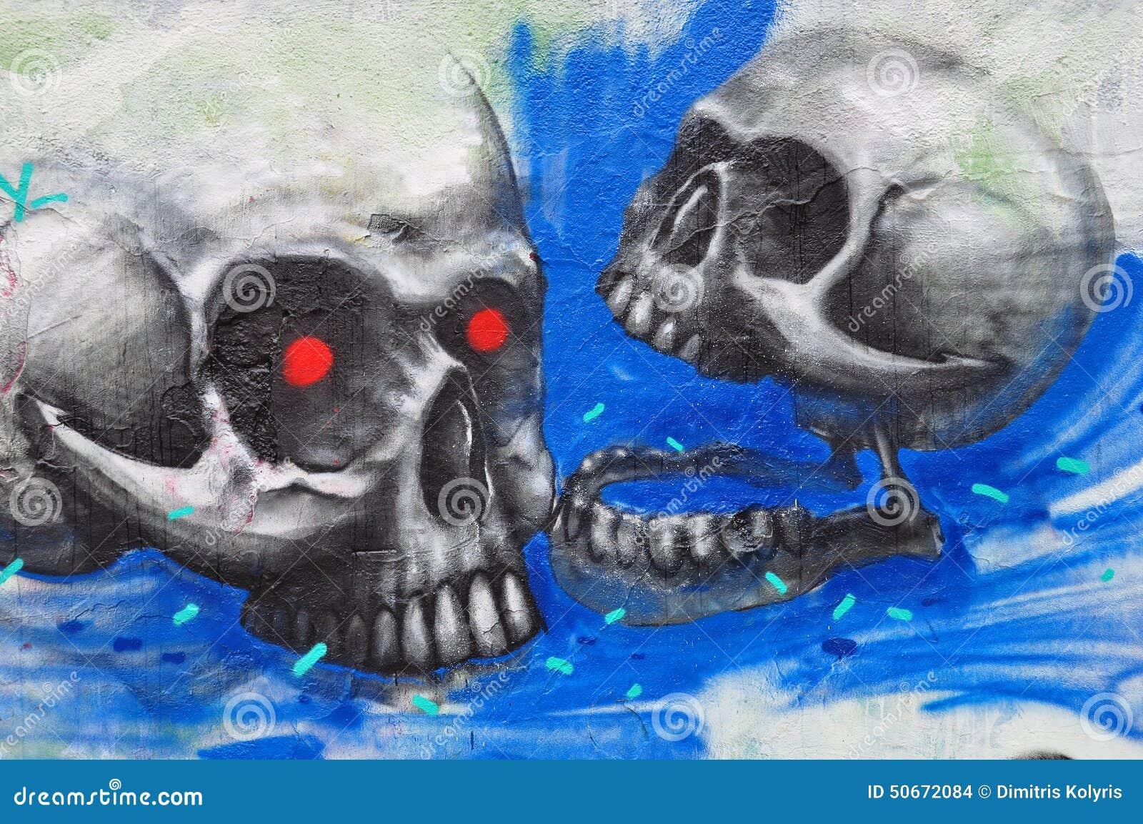 Граффити черепов