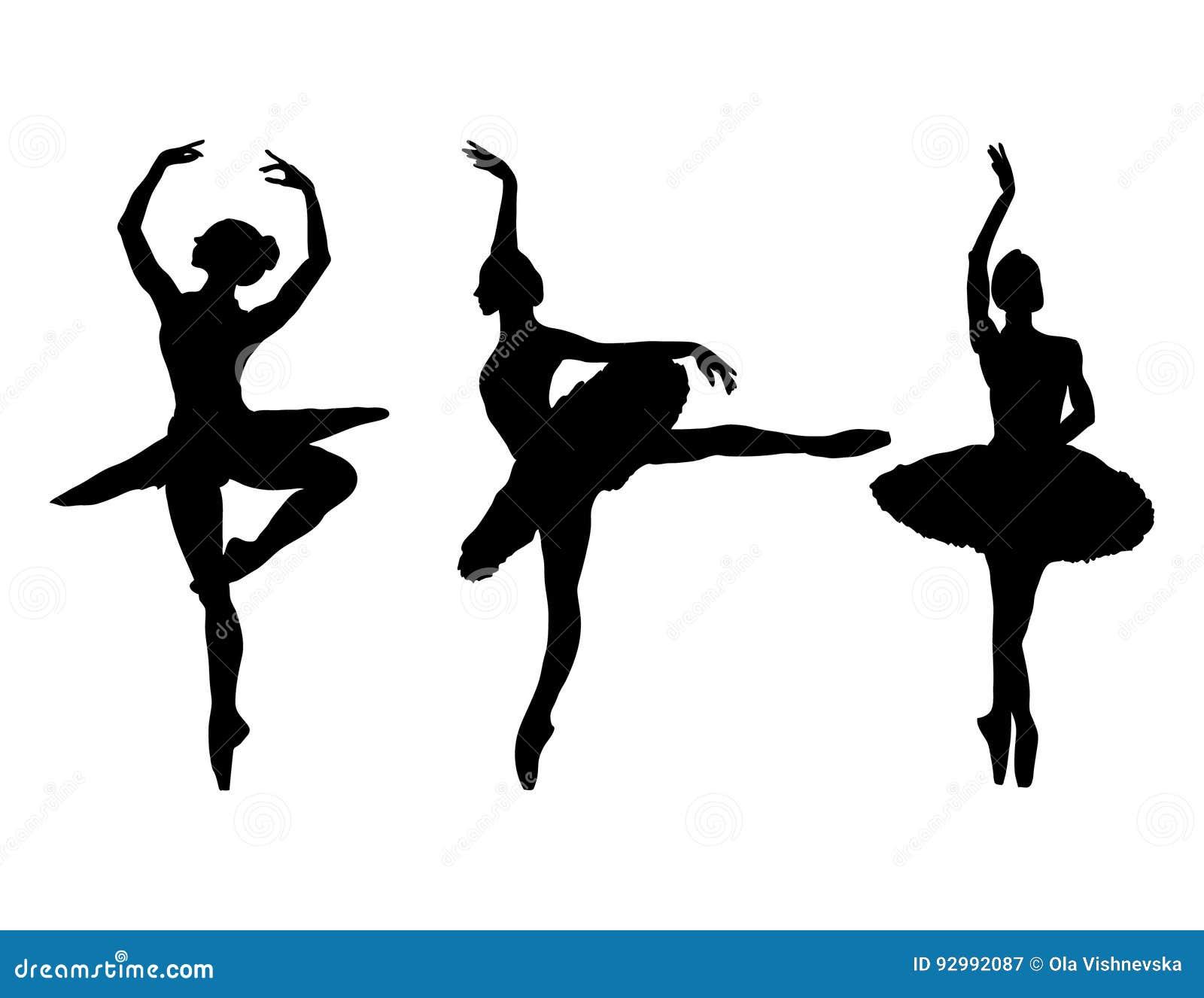 Грациозно балерина на белой предпосылке