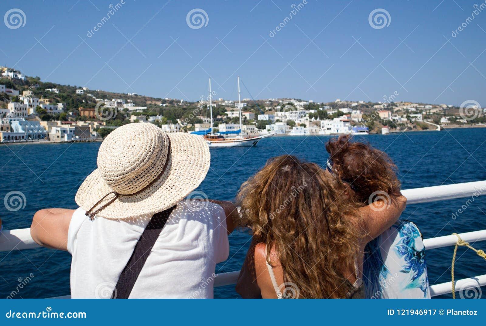 греческие острова Kalymnos гавань Самое лучшее туристское назначение в Эгейском море