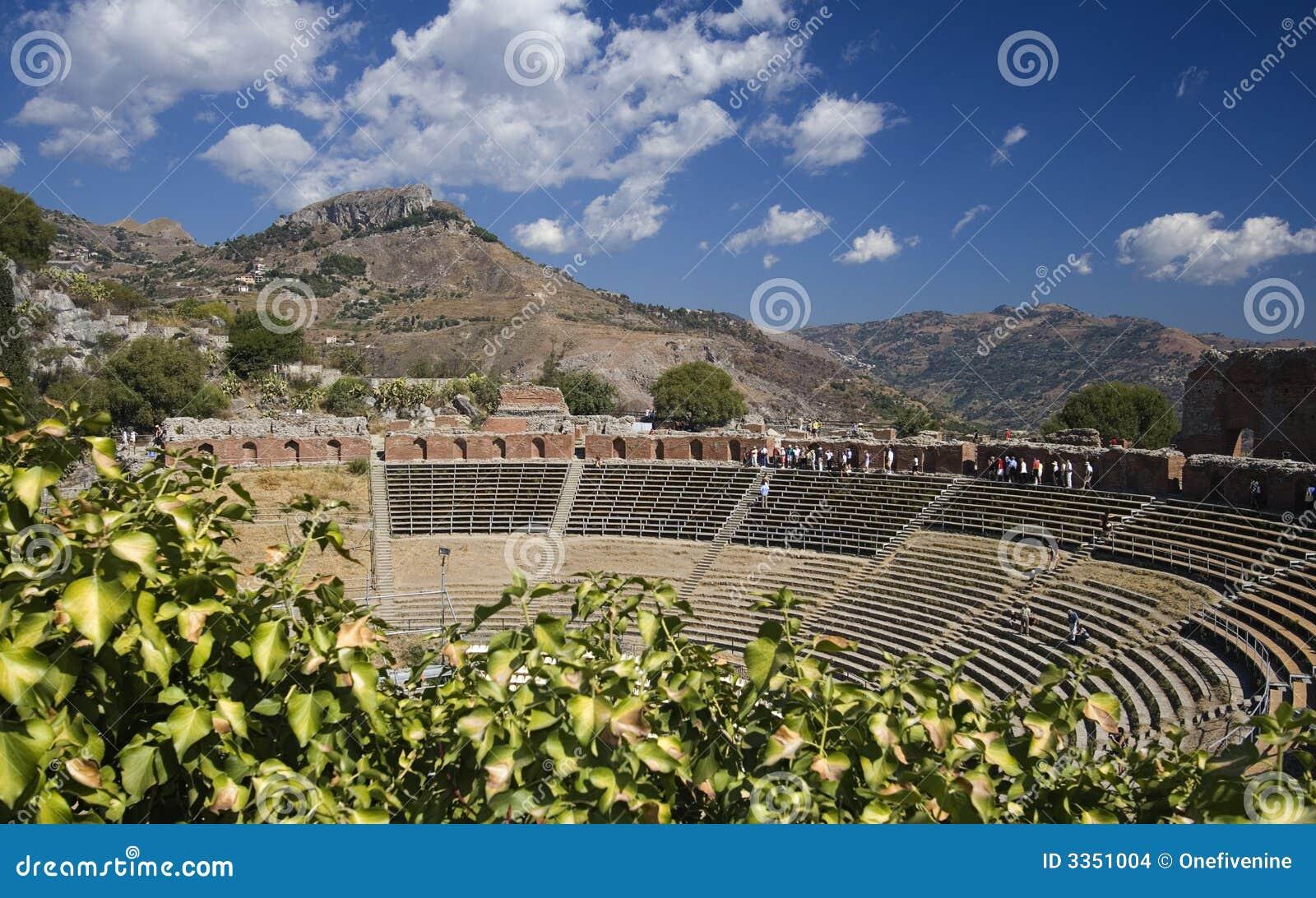 греческий театр taormina