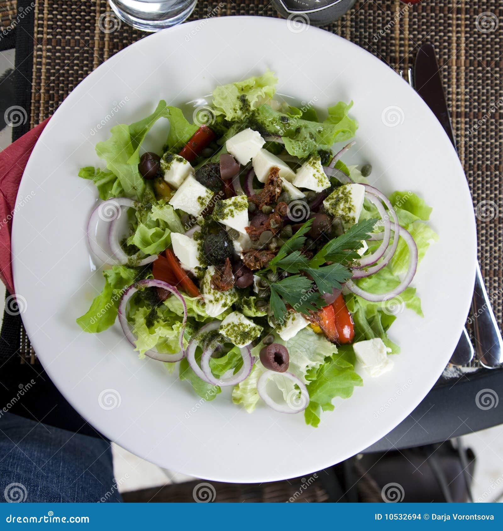 греческое salat
