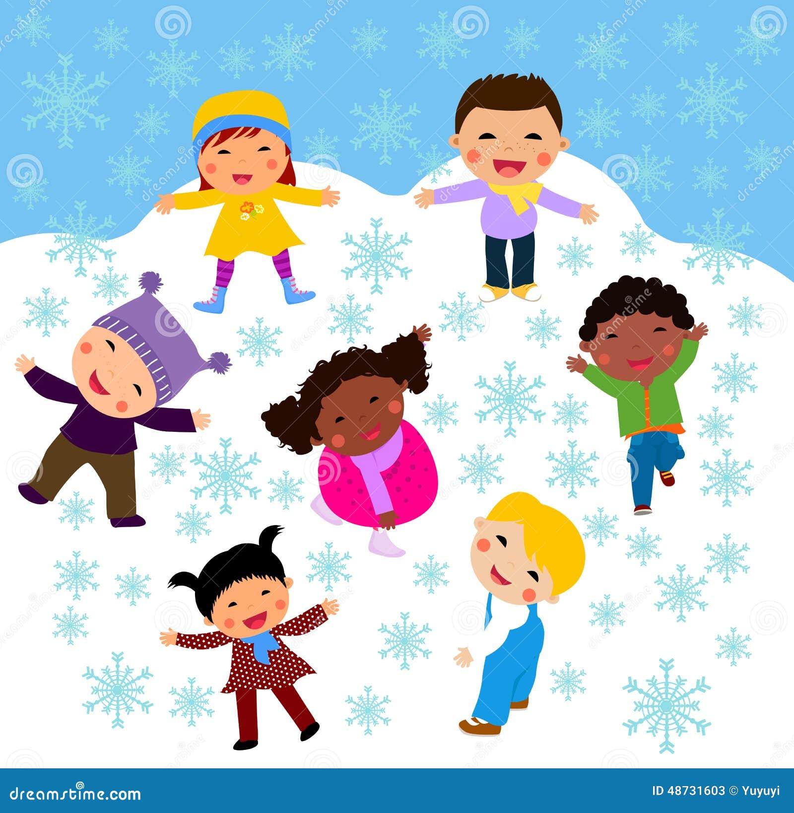 Картинки о зиме для детей состав