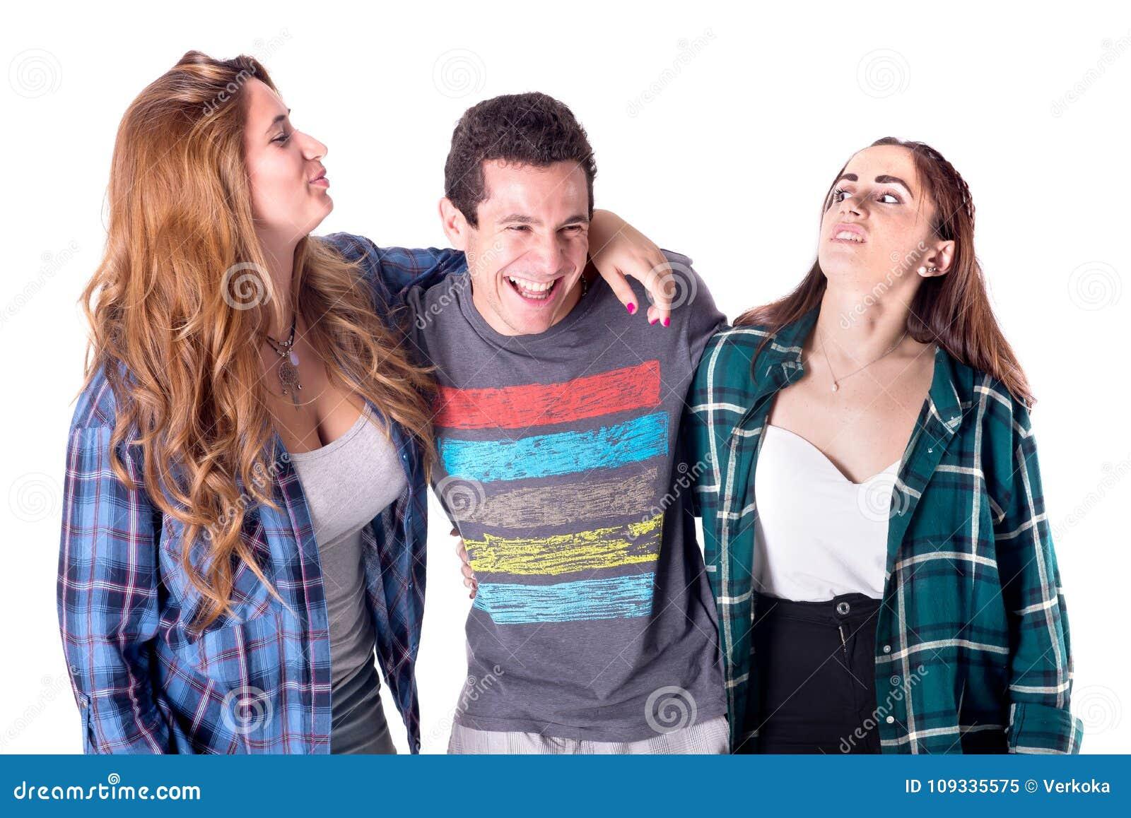 Группа в составе молодой представлять друзей
