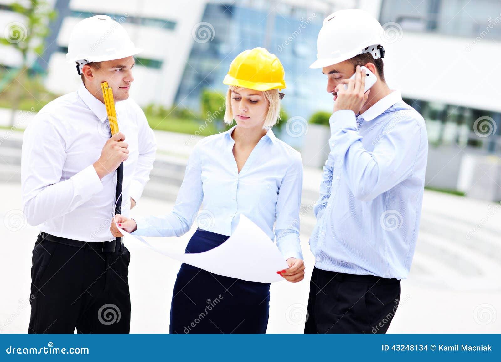 Группа в составе молодые архитекторы