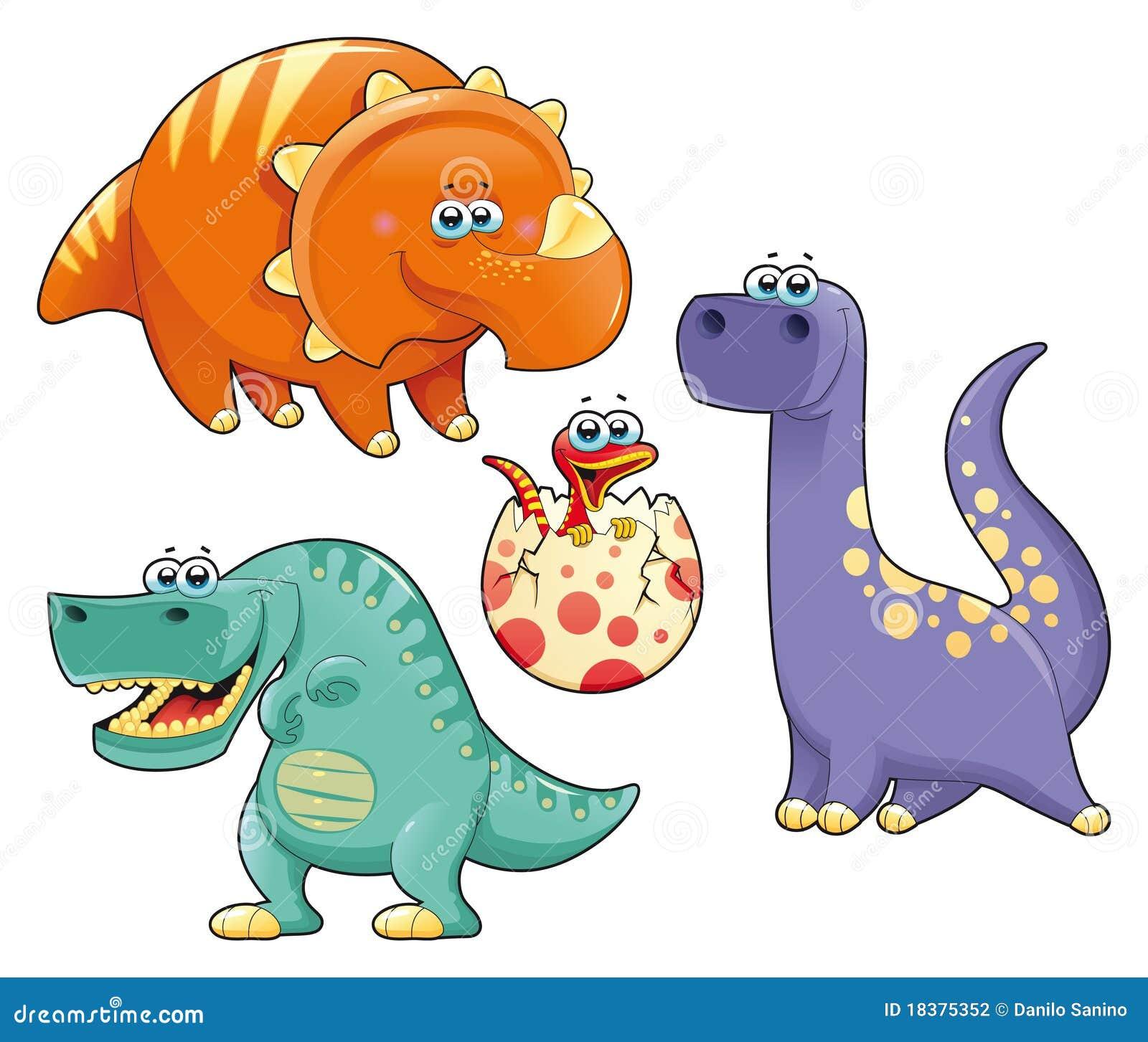 группа динозавров смешная