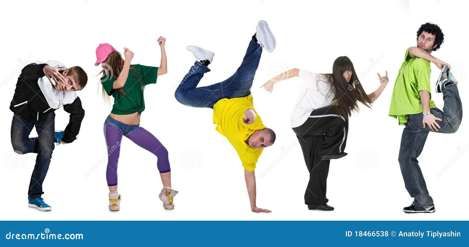 группа танцора