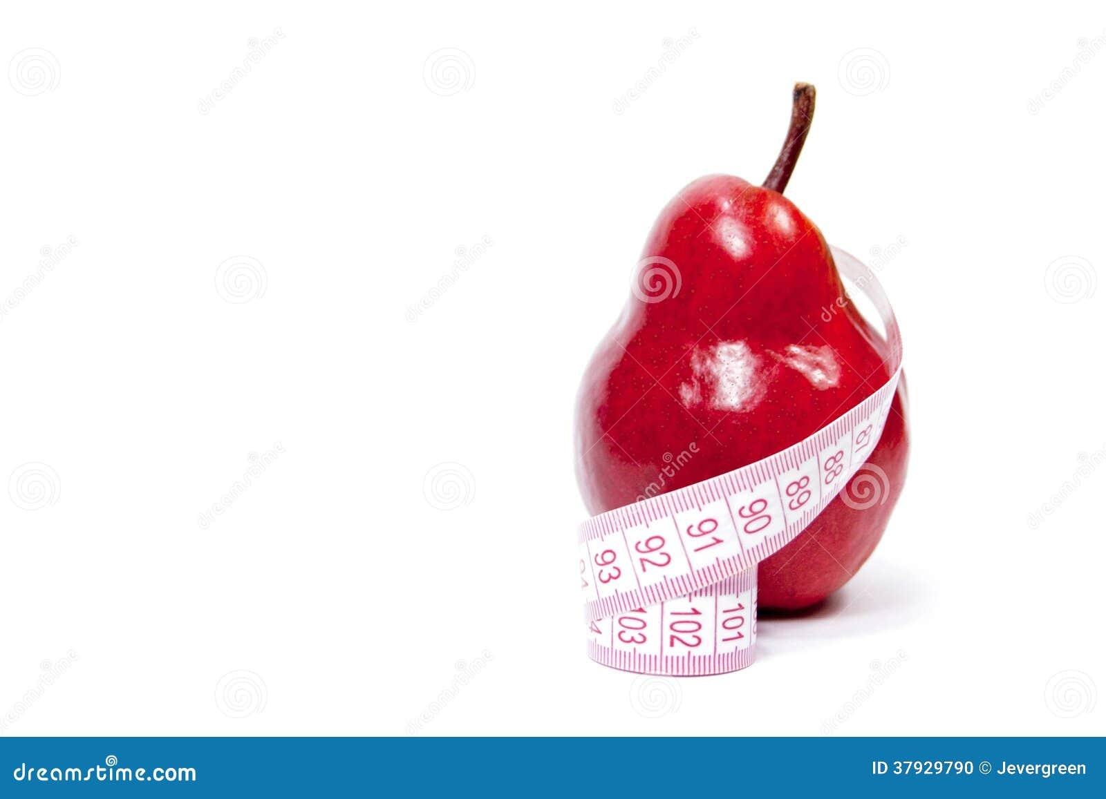 Груша и сантиметр